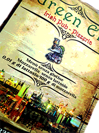 Menu Piccolo - Green Elf
